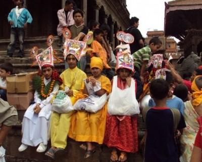 Gaijatra in Patan, Lalitpur