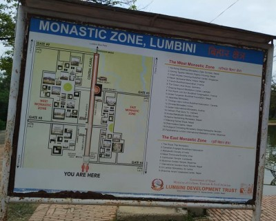 Monastic Zone in Lumbini