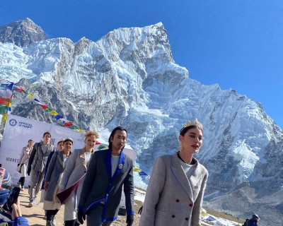 The Mount Everest Fashion Runway was Success to hold Guinness World Record