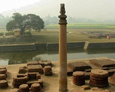 Ashok Pillar at Tilaurakot