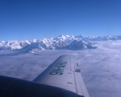 Mountain Flights in Nepal