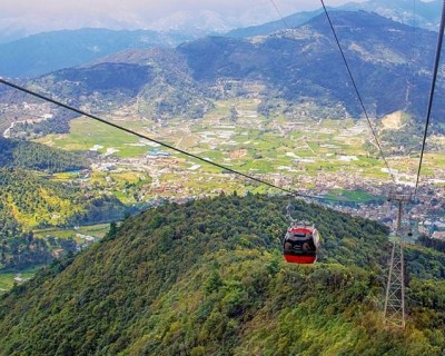 Cable Car in Chandragiri Hill