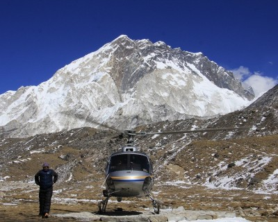 Luxury Everest View Trek with Helicopter Fly