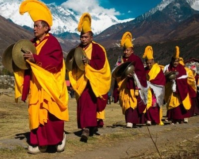 Mani Rimdu Festival Trek in Everest Region