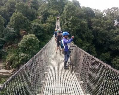 Mountain Bike tour near Kathmandu