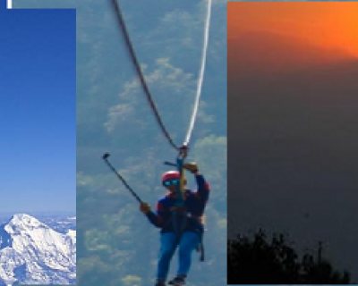 Mountain Flight - Zipline Adventure - Sunset view at Nagarkot in a single day