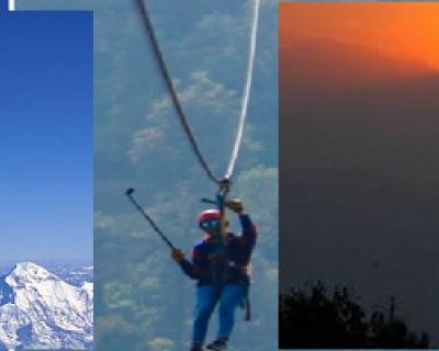 Mountain Flight - Zipline Adventure - Sunset view at Nagarkot in a single day