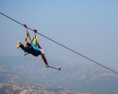 Zipline Near Kathmandu